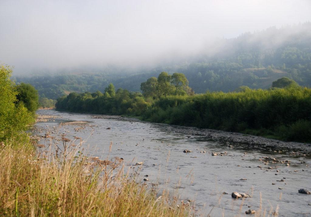 Славское, река Опир